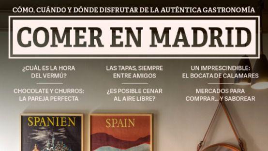 'Comer en Madrid', una guía para promocionar la gastronomía de la capital
