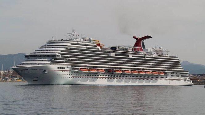 Las Palmas de Gran Canaria espera al 'Carnival Vista', el nuevo crucero de la naviera Carnival
