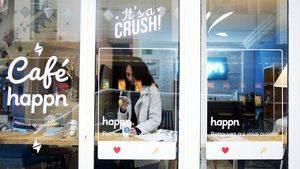 'Happn Café' en Le Marais, el barrio más de moda de Paris