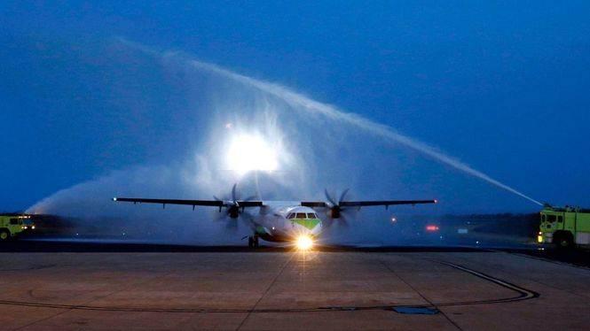 Binter CV, la primera aerolínea española que opera vuelos regulares internos en Africa