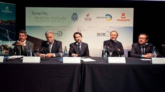 Tenerife,destino invitado en el Congreso Madrid-Fusión, presenta su gastronomía