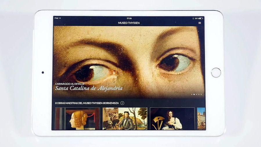 """""""Second Canvas Thyssen"""" nueva aplicación digital para ver las obras maestras de la colección del museo"""