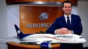 'Me apetecía liderar los equipos internacionales de Aeroméxico por el crecimiento que está experimentando'