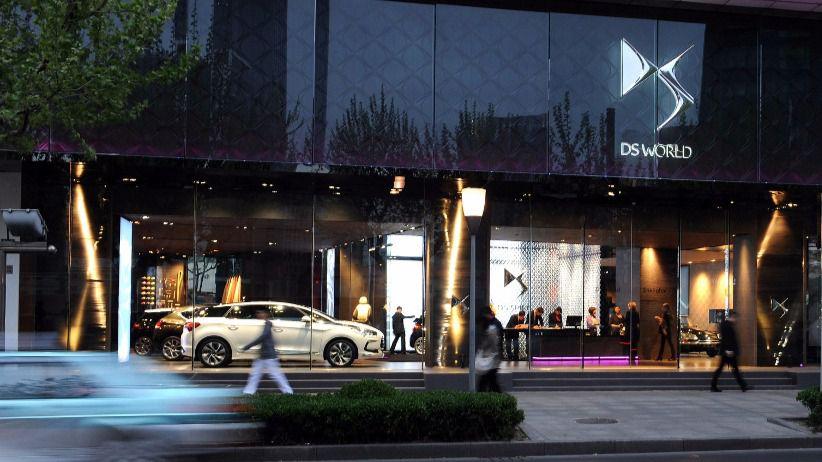 DS World Shanghai: Todo el universo del lujo francés de DS Automobiles con un toque oriental