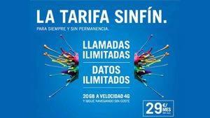 """LA """"SINFÍN"""" 25 GB, estará disponible hasta el 28 de febrero"""