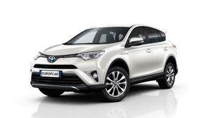 Europcar incorpora a su flota, durante 2017, el nuevo Toyota RAV4 hybrid 4x4