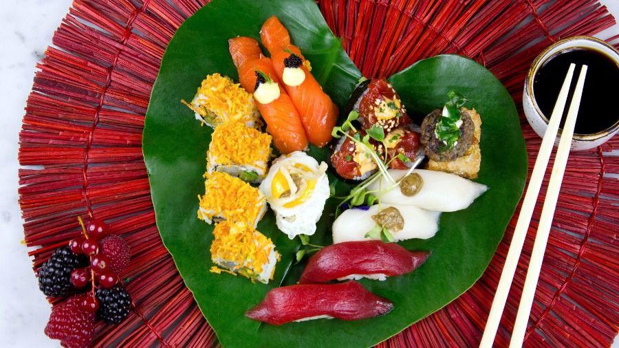 Sushita propone un menú para San Valentín que se come con el corazón