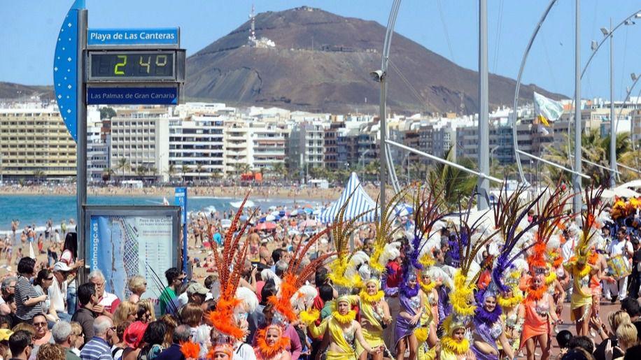Las Palmas de Gran Canaria se prepara para vivir el Carnaval de La Eterna Primavera