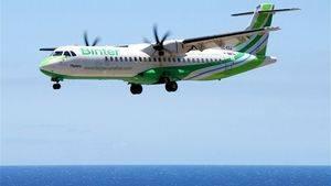 Binter lanza la promoción Green Days Carnaval, con vuelos interinsulares a partir de 15,65 € por trayecto
