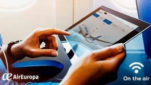 Air Europa instala el servicio Streaming en su flota de largo radio