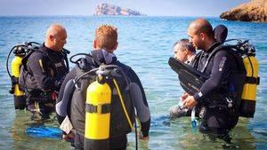 Benidorm, un paraíso para la práctica de buceo y submarinismo