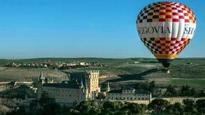 Un globo aerostático accesible volará por toda España promocionando Segovia