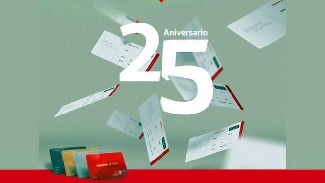 """Iberia Plus celebra su 25 Aniversario, con el concurso """"Billete en blanco"""""""