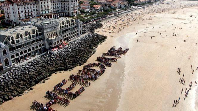Hendaya, la última playa francesa