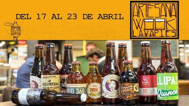 Artesana Week Lavapiés 2017 (semana para la cerveza)