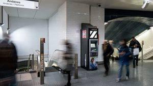 Cajero automático Cardtronics en Estación FGC Plaza Cataluña