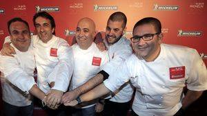 Cocineros de Andaluci?a con estrella Michelin en la Gala de Presentacio?n
