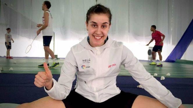 La campeona olímpica de bádminton, Carolina Marín, nueva embajadora de Meliá