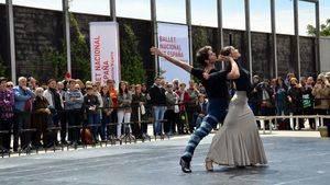 El Ballet Nacional de España sale a la calle para celebrar el Día Internacional de la Danza