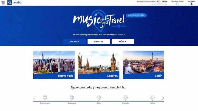 Los españoles son los viajeros más melómanos de Europa
