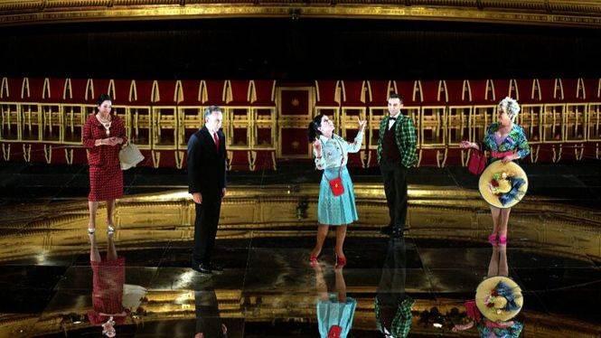 El Teatro de la Zarzuela se pone patas arriba