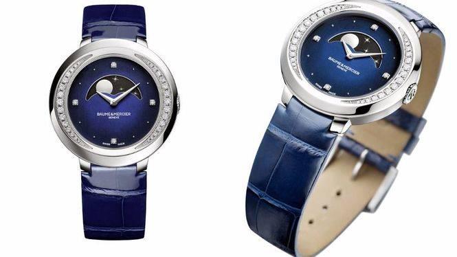 El nuevo Promesse de Baume &Mercier, el reloj con fase lunar