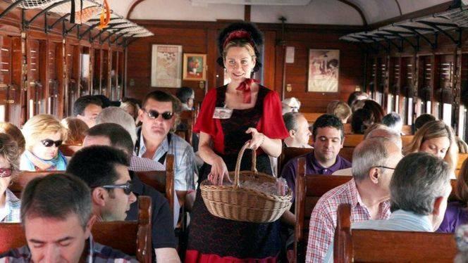 El Tren de la Fresa, que une Madrid y Aranjuez, inicio la temporada con nuevas rutas