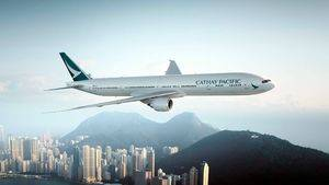 B-777 sobre Hong Kong
