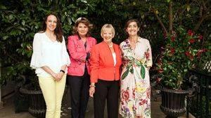 Sara Mota, Belén Lacalle, Sandy Myhre y Marta García
