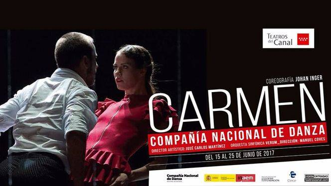 """Carmen"" de Johan Inger por la Compañía Nacional de Danza…"