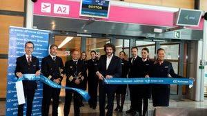 Air Europa inaugura su nueva ruta a Boston, su tercer destino en EEUU