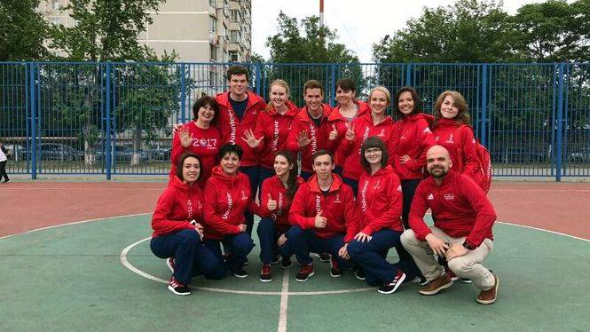 Daniel Diaz, primer español en ser voluntario de la Copa de Confederaciones 2017