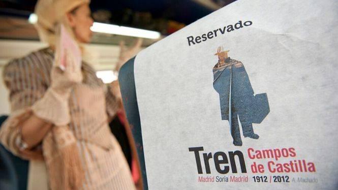 'Tren Campos de Castilla' para descubrir Soria y el yacimiento arqueológico de Numancia