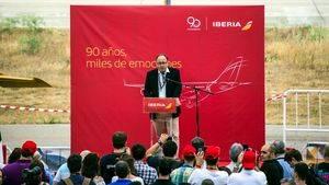 Luis Gallego, presidente ejecutivo de Iberia
