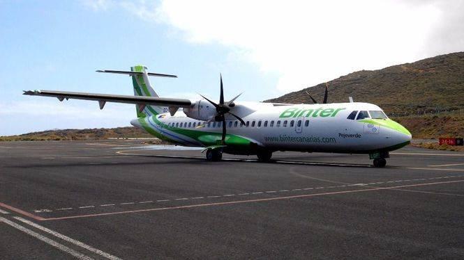 La aerolínea Binter preparada para aplicar el descuento del 75% a residentes