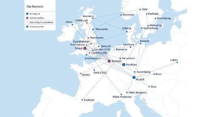 bmi regional lanza rutas a Gotemburgo y Núremberg