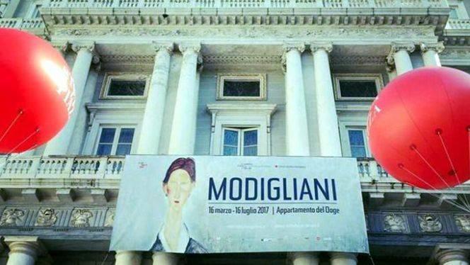 Modigliani en el Palacio Ducal de Génova…
