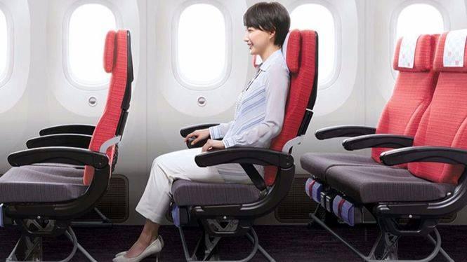 Japan Airlines mejora su asiento en clase turista
