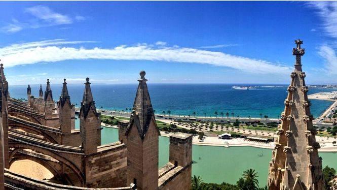 Vuelven las visitas guiadas a las terrazas de la Catedral de Palma