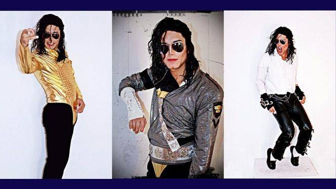 Descubrimiento de la estatua de Michael Jackson