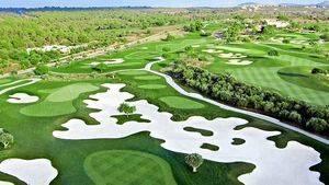 Golf Son Gual. Mallorca. Hoyo 2