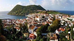 Azores - Monte do Brasil en Angra do Heroismo en Terceira