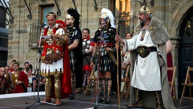 Astorga celebra la 'Fiesta de Astures y Romanos'