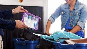 Descubrir lo que no se puede llevar en el equipaje