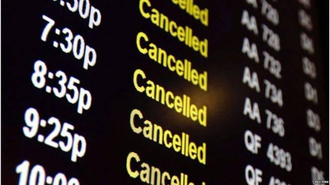 ¿Qué pasa si cancelan un vuelo?