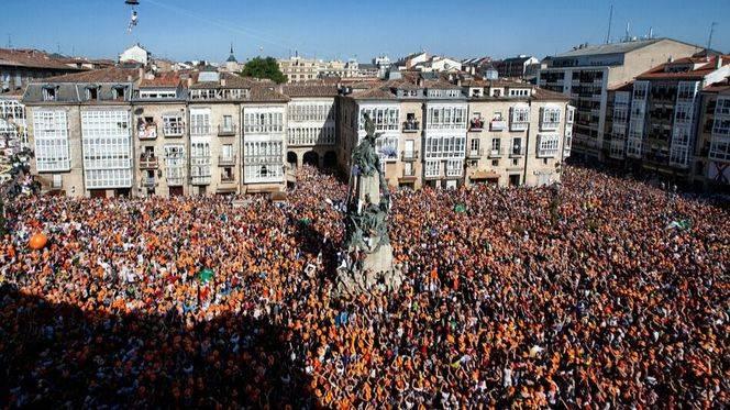 Vitoria-Gasteiz se sumerge en las fiestas de La Blanca