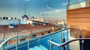 Terraza Hotel Indigo Madrid Gran Vía