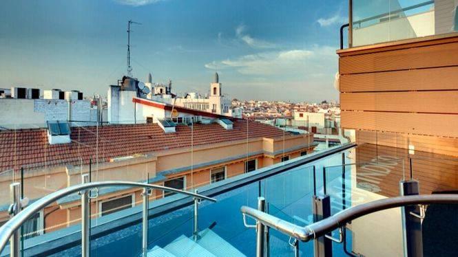 El verano de Madrid desde la terraza del Hotel Indigo