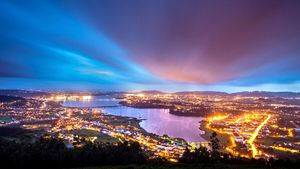 Ria de Ferrol de noche
