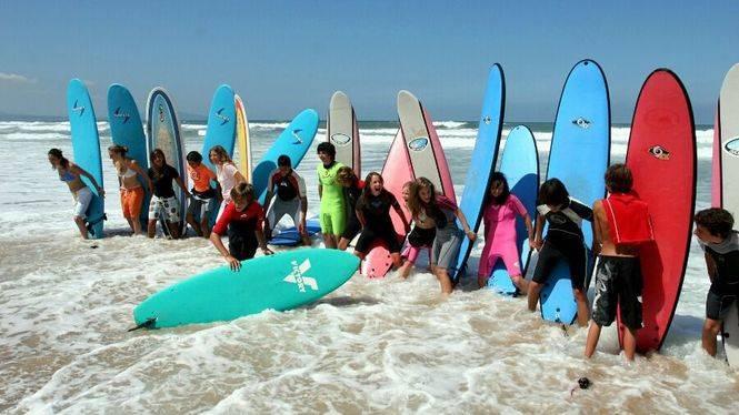 Surf y olas para todos en Hendaya